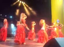 Danse avec Aïda et ses élèves Awalim