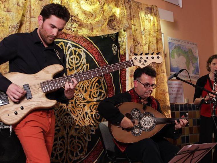 Concert du Quartet Habib Al Deek avec les musiciens du groupe lillois Tamazouj